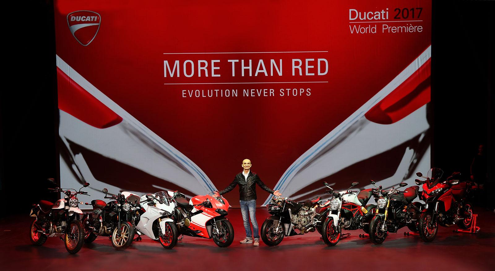 Ducati – World Première