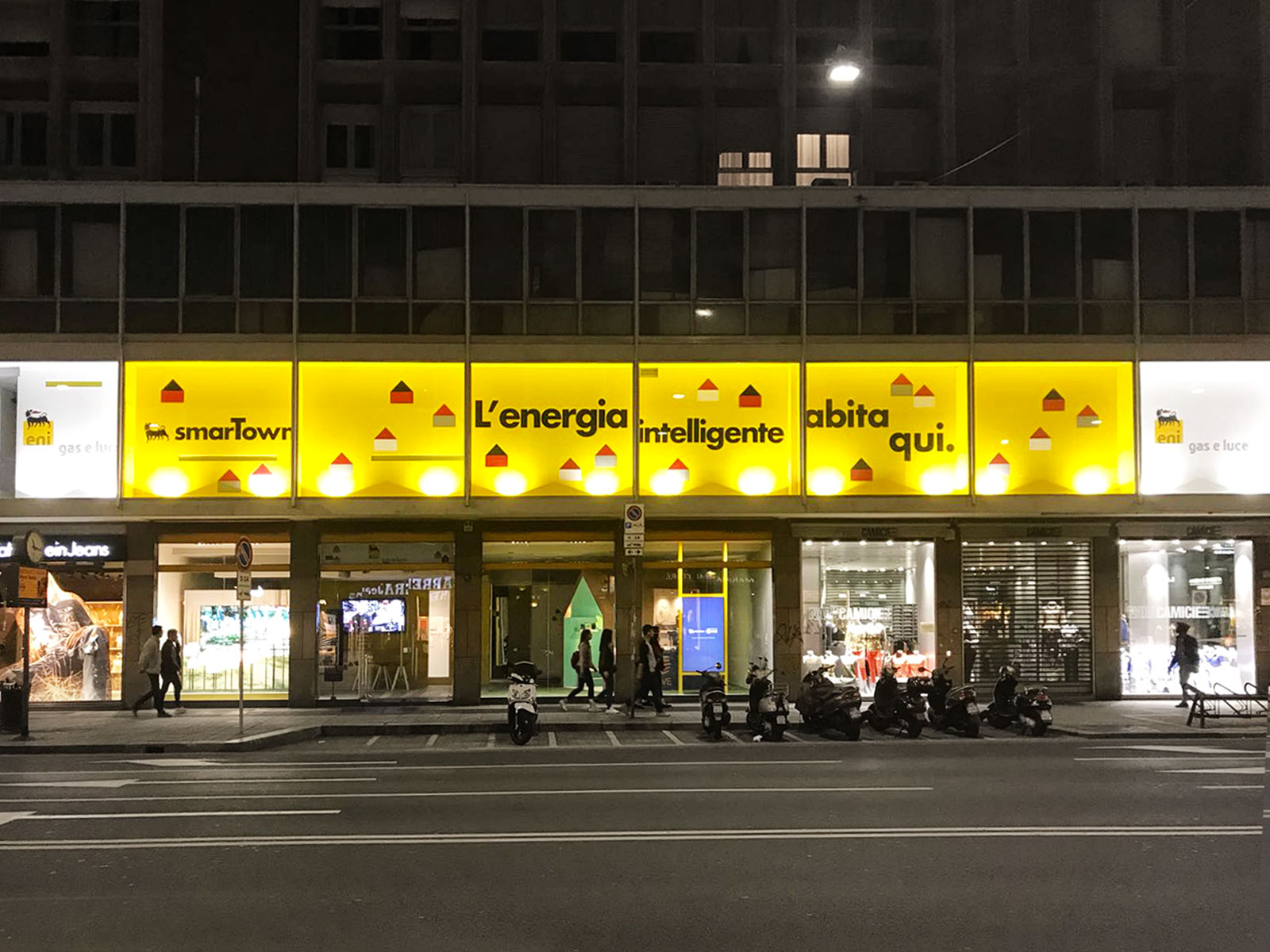 ENI – TEMPORARY STORE