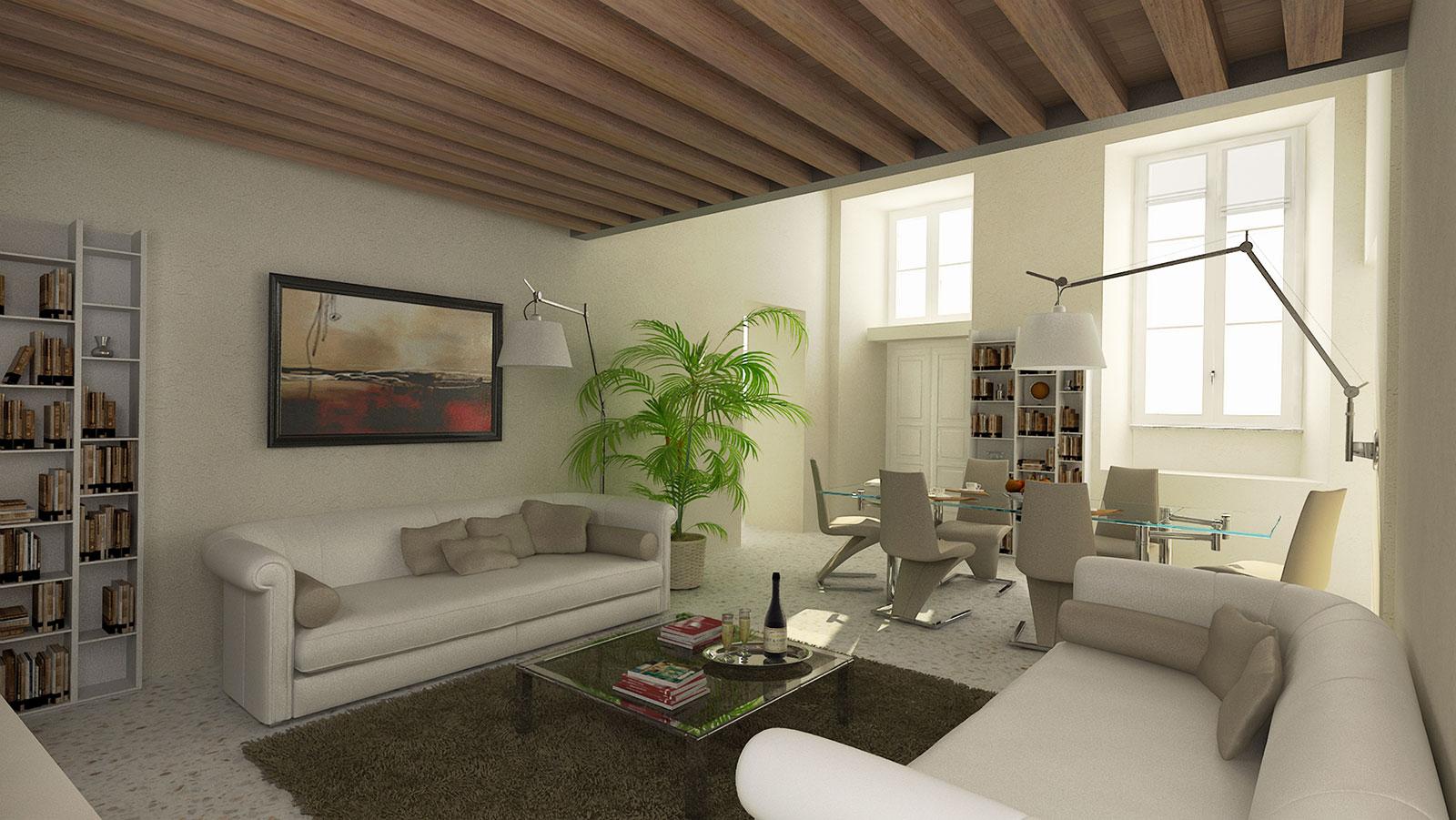 Rendering – Interior Design